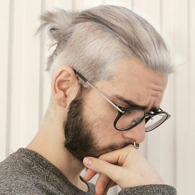 Gray Hair color for men