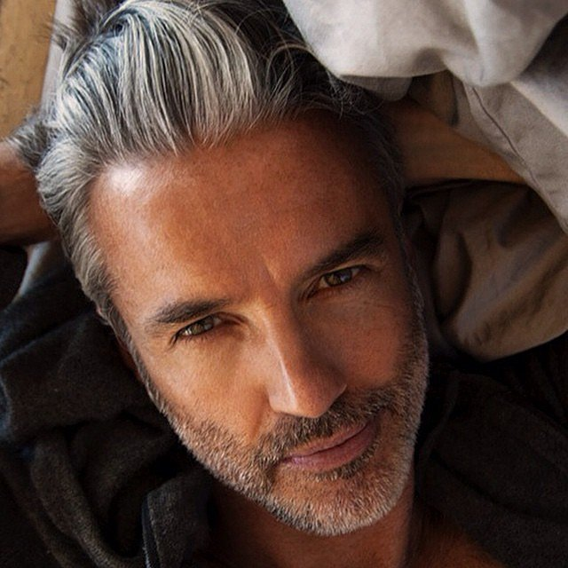 Sexy Gray Hairstyles for men