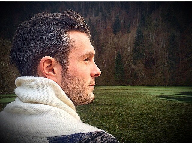 Romantic Gray Hairstyles for men