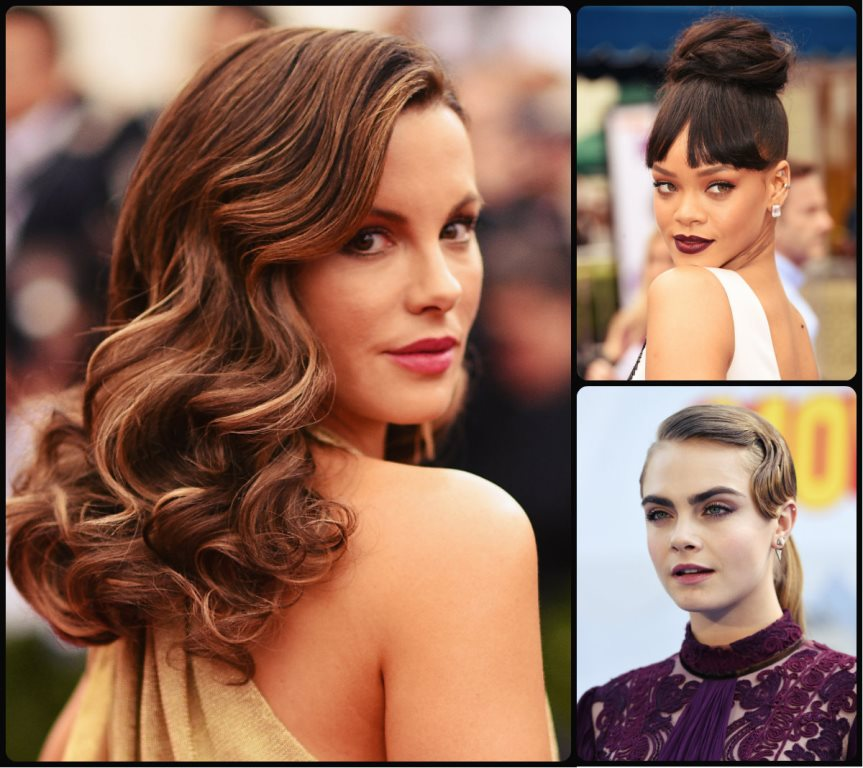 Celebrity Holiday Hairstyles To Meet 2016