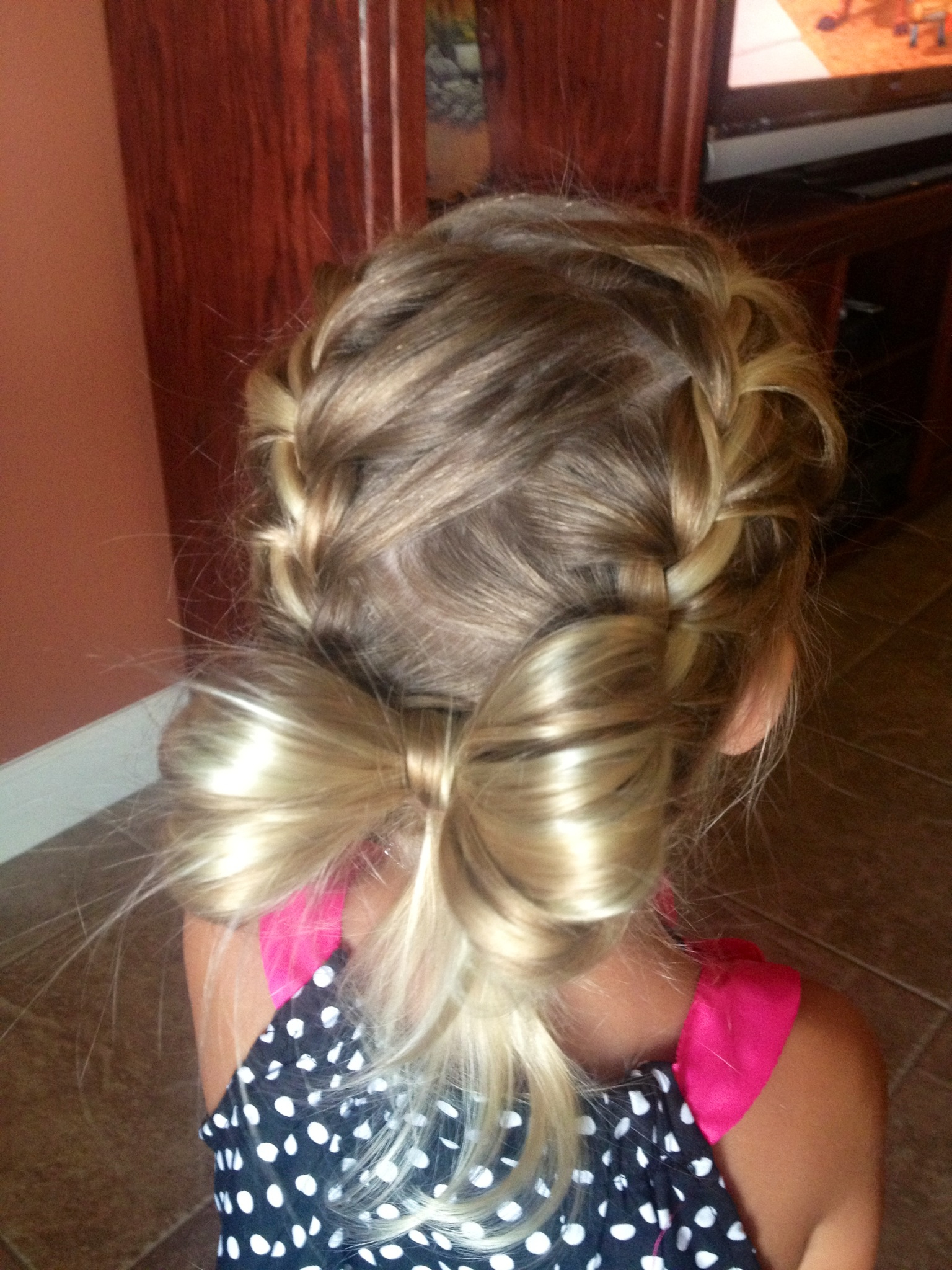 Enjoyable Cute Christmas Party Hairstyles For Kids Hairstyles 2017 Hair Short Hairstyles For Black Women Fulllsitofus