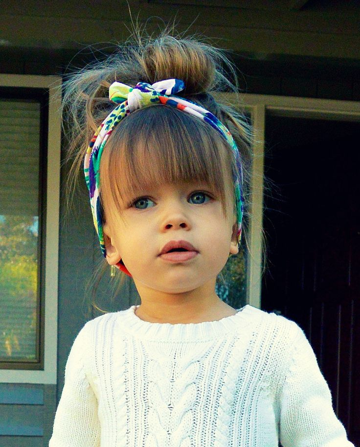 New Year Party Hairstyles for Kids  with headband