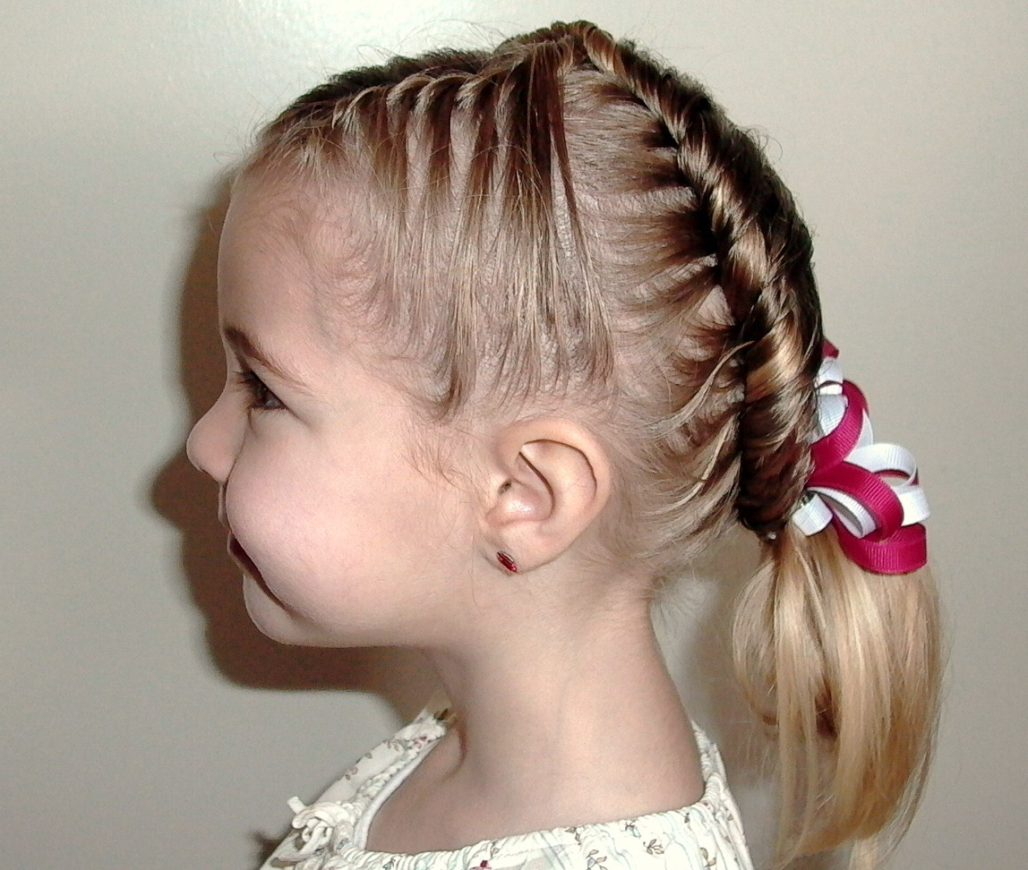 Awesome Cute Christmas Party Hairstyles For Kids Hairstyles 2017 Hair Hairstyle Inspiration Daily Dogsangcom