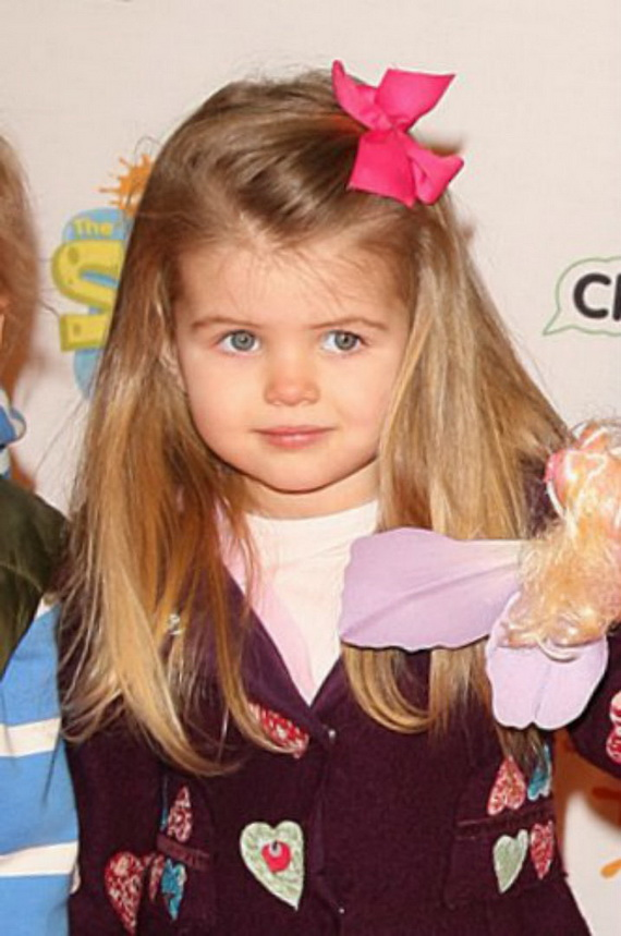 Loose long Party Hairstyles for little girls
