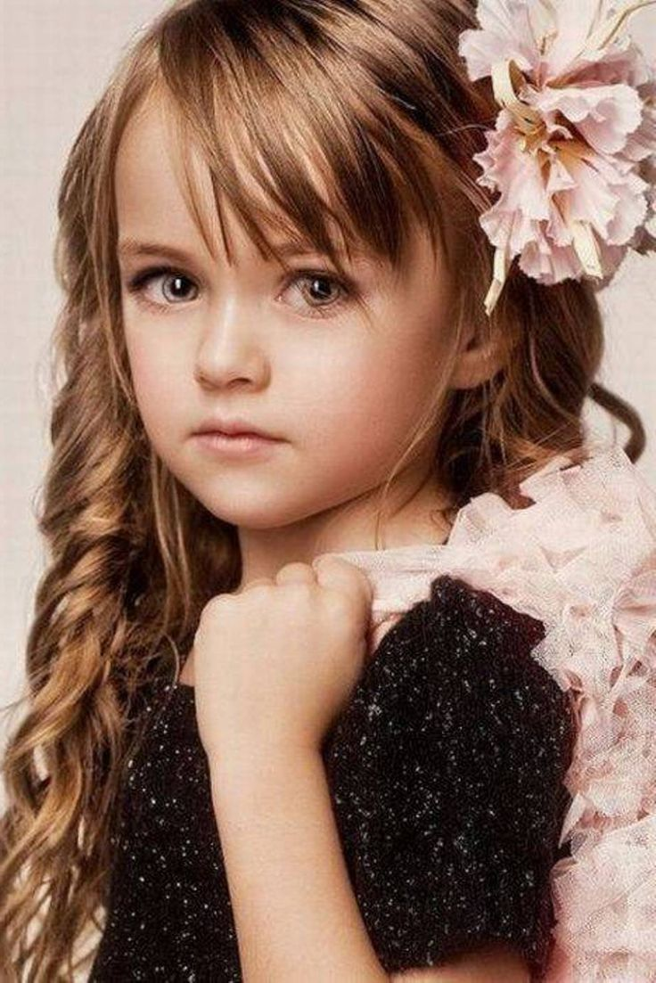Party Hairstyles for Kids and flower hair accessories