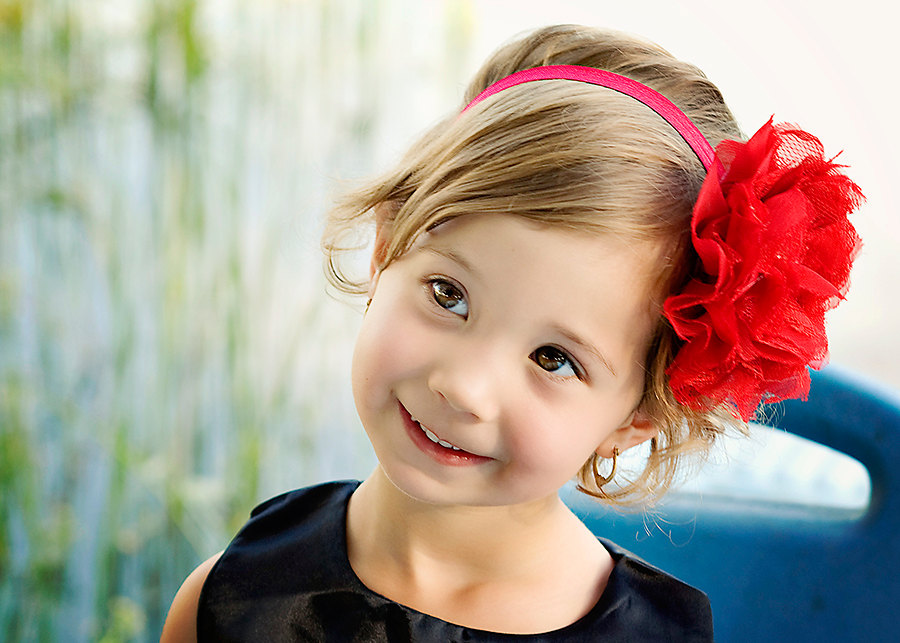 New Year Party Hairstyles for Kids 2016