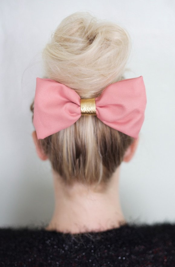 Cute Party Bow Hairstyles