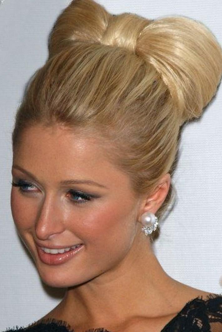 Paris Hilton Party Bow Hairstyles
