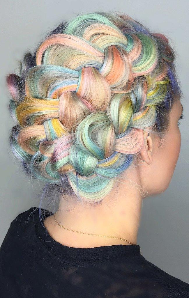 Macaron Rainbow hair colors 2016