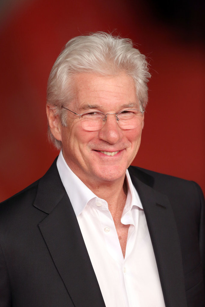 Richard Gere Celebrity Gray Hairstyles for Men