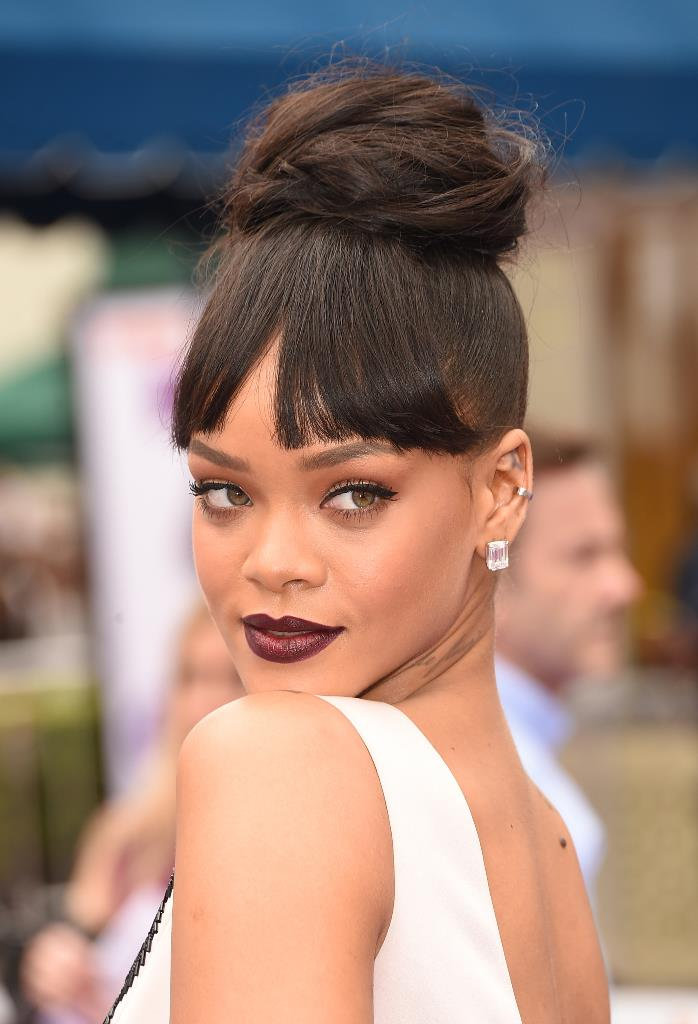 Rihanna Holiday Hairstyles