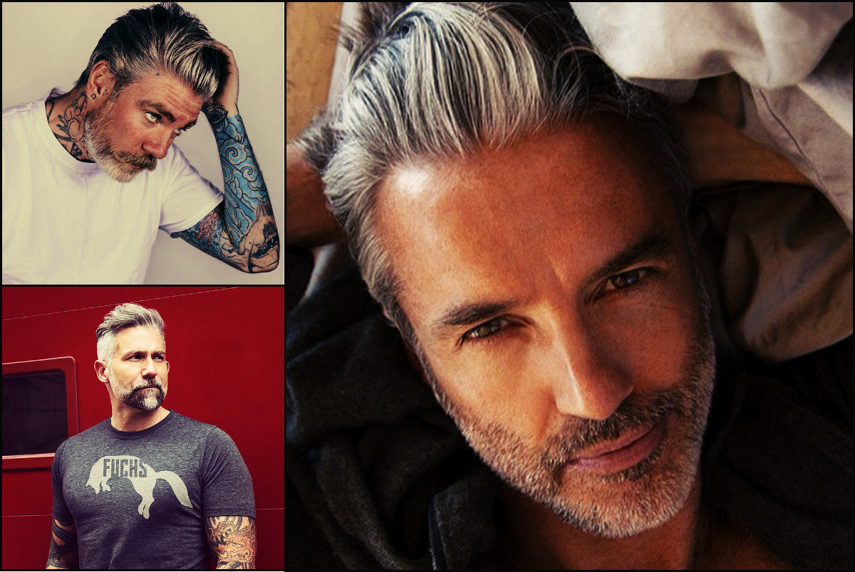 Mature Mens Sexy Gray Hairstyles Hairstyles 2017 Hair Colors And