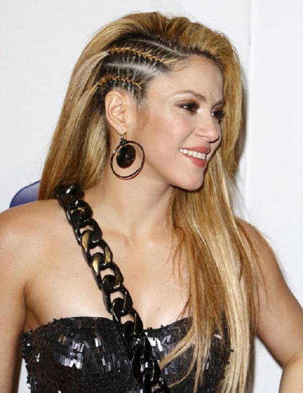 Shakira Cornrow Braids