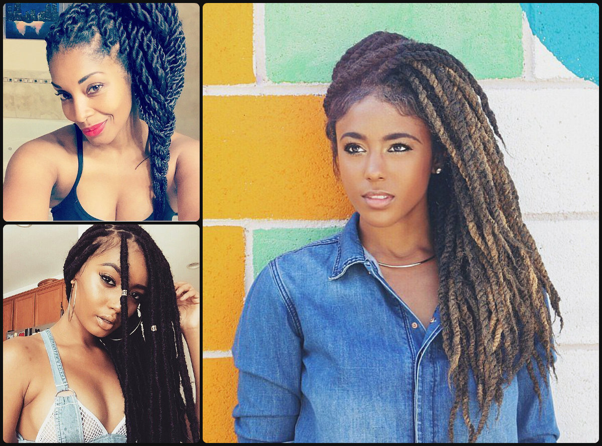hair extensions & black women braids 2016 ~ long hairstyles