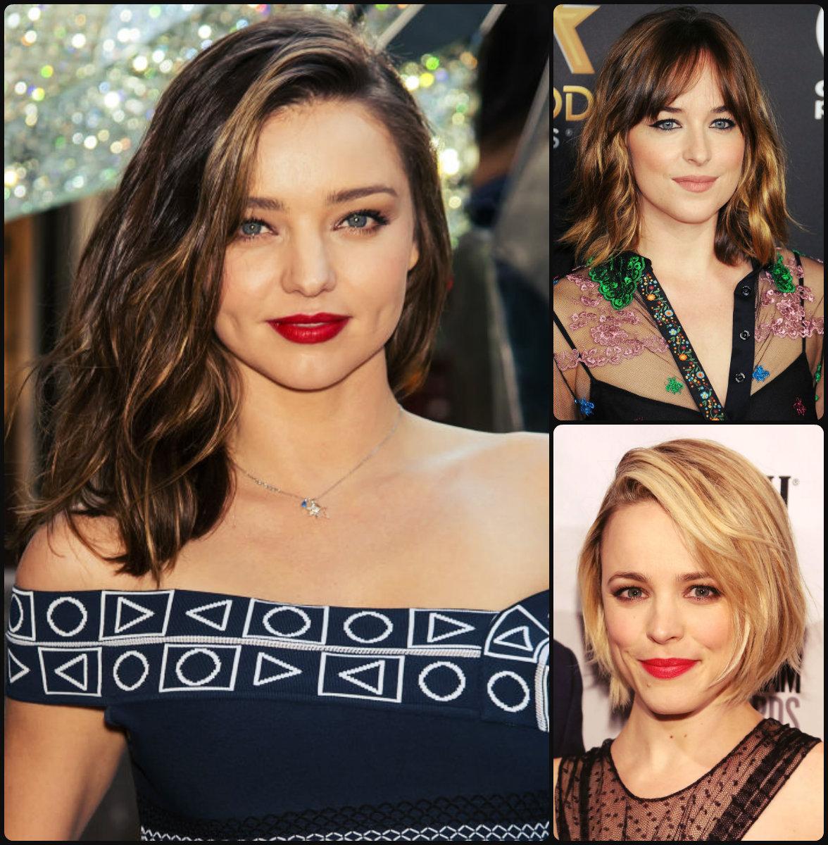 Warm Celebrity Winter Hairstyles
