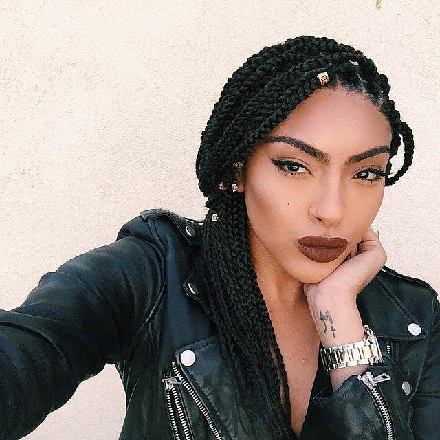 Small Box Braids For Black Women