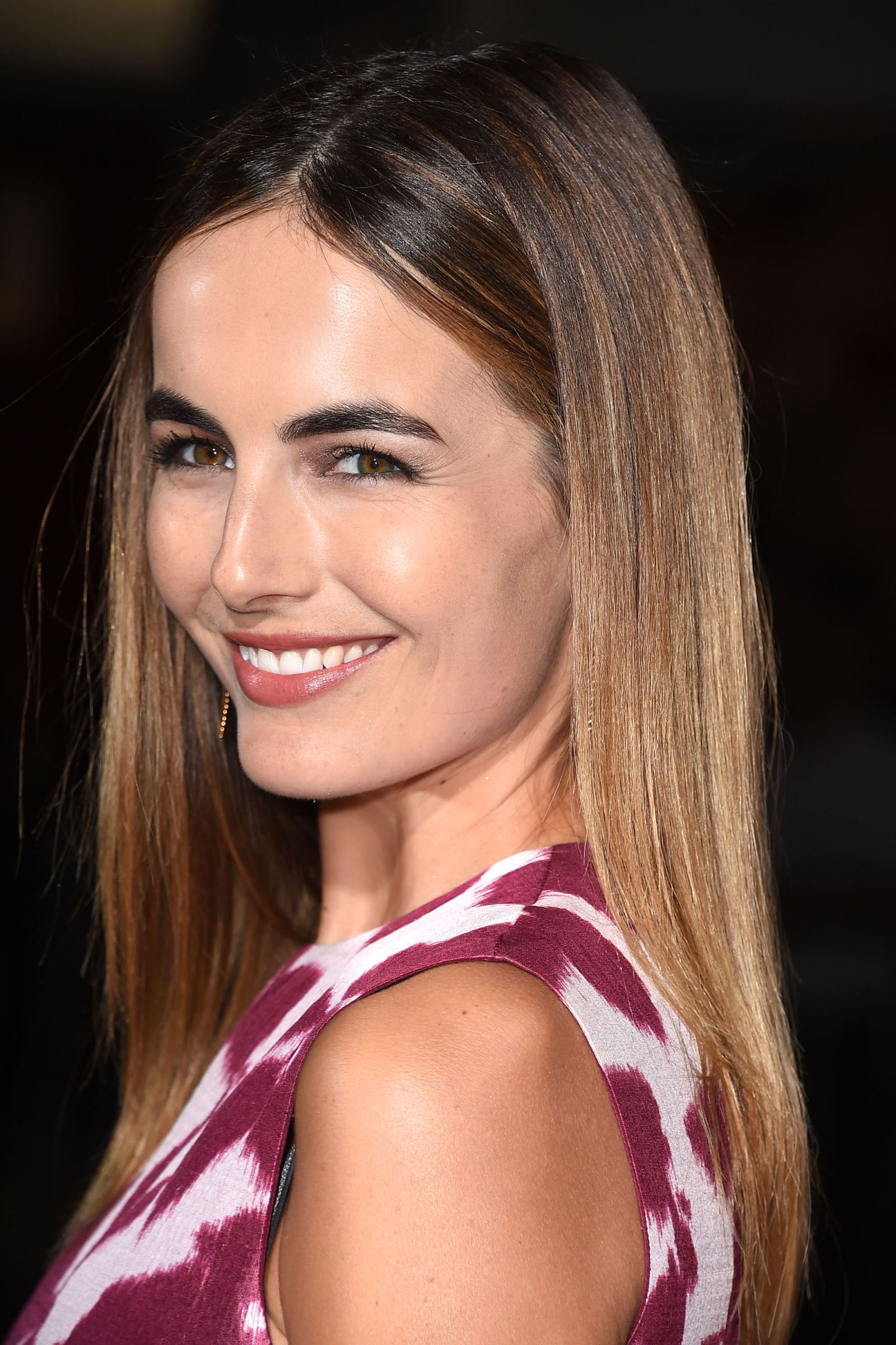 Camilla Belle Winter Hair Colors 2016