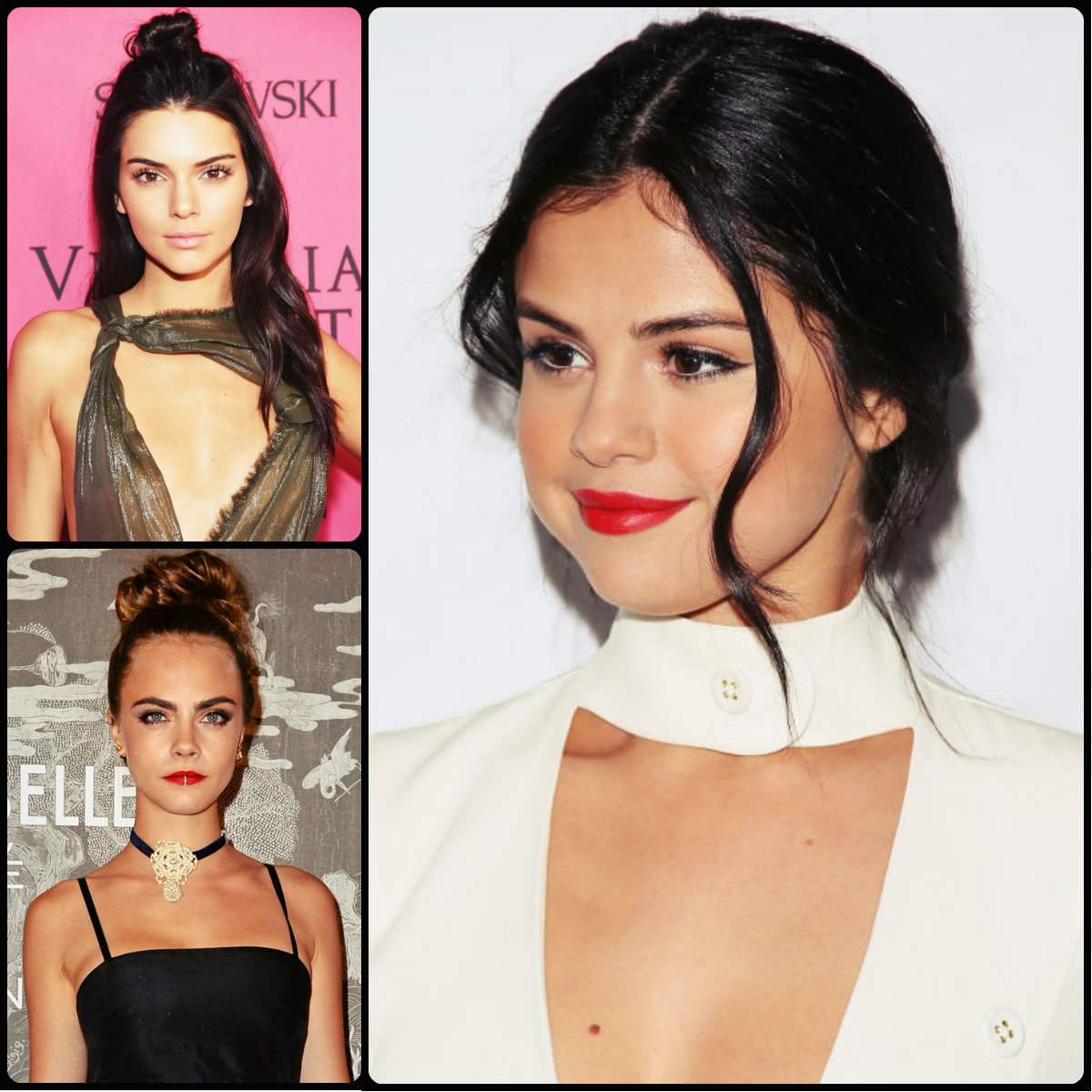 Celebrity Holiday Hairstyles 2015