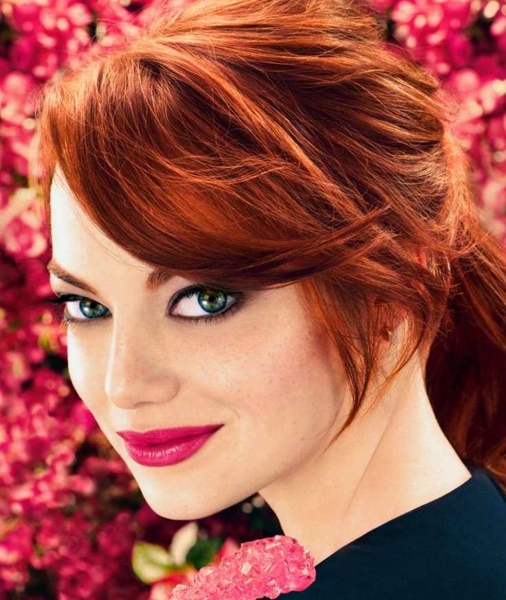Emma Stone Winter Hair Colors 2016