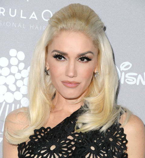 Gwen Stefani Holiday Hairstyles 2016