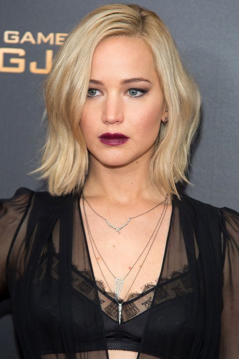 Jennifer Lawrence Winter Hairstyles