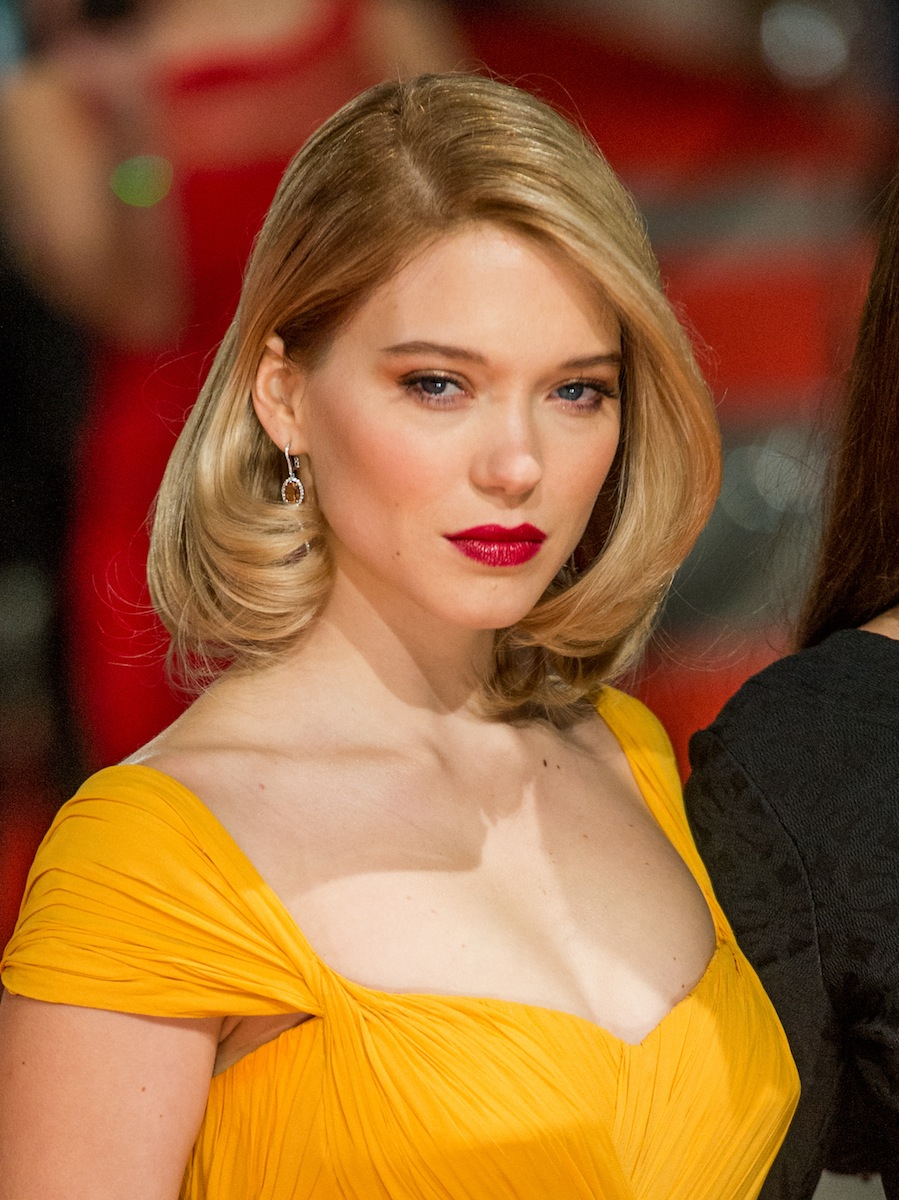 Léa Seydoux Party Hairstyles 2016