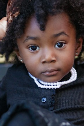 Cute afro hairstyles for kids
