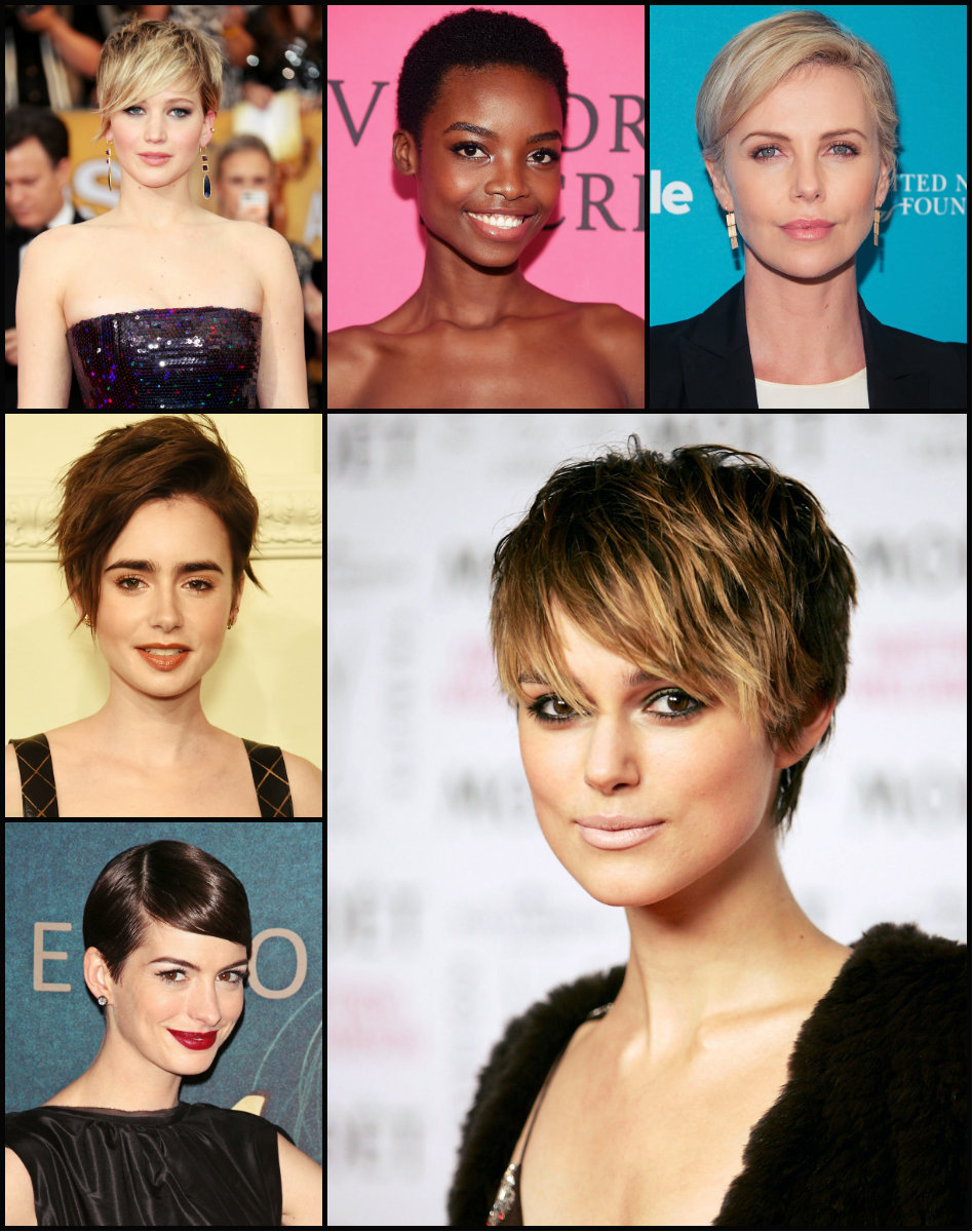 Adorable Celebrity Pixie Haircuts
