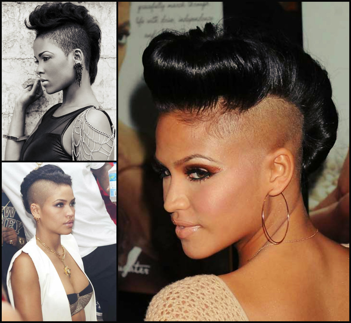 Mohawk Hairstyles Black Women 2016