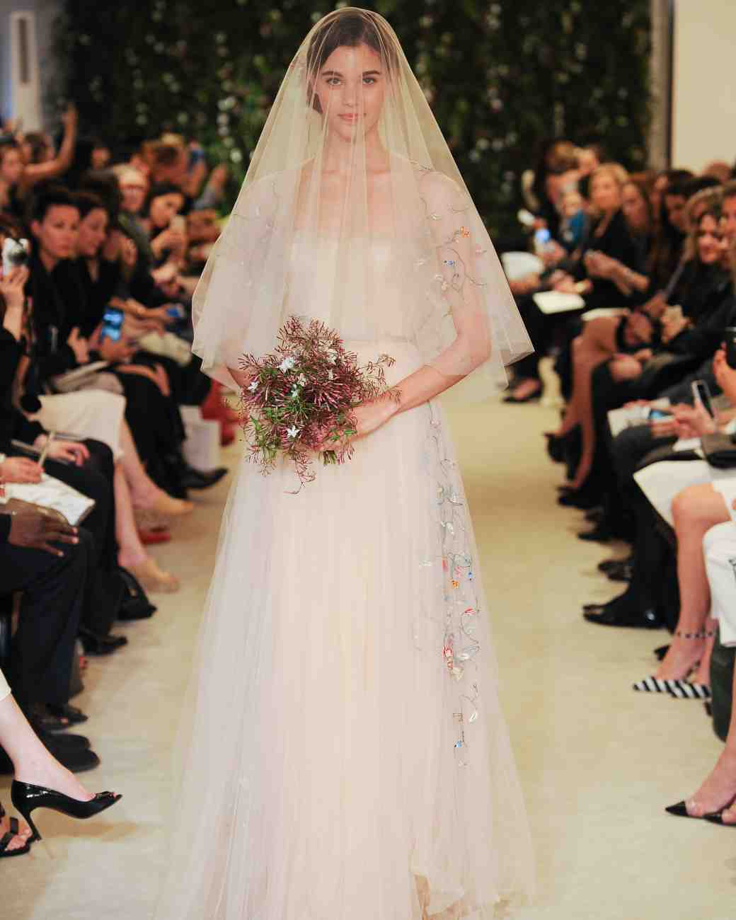 Carolina Herrera Bridal Hairstyles 2016 Spring