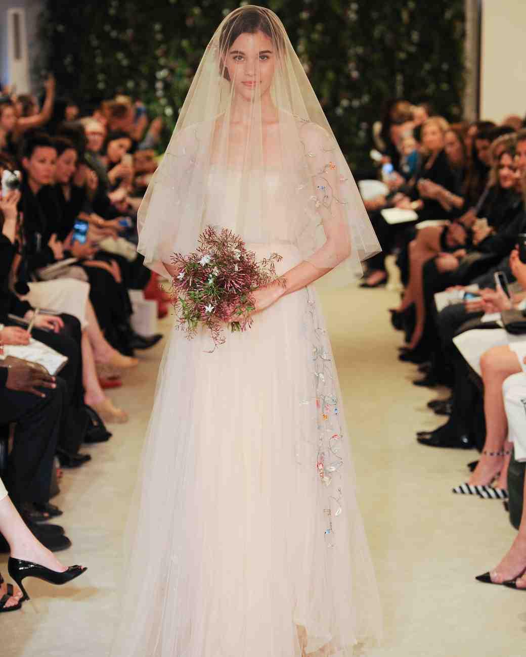 Carolina Herrera Bridal Hairstyles 2016 Spring
