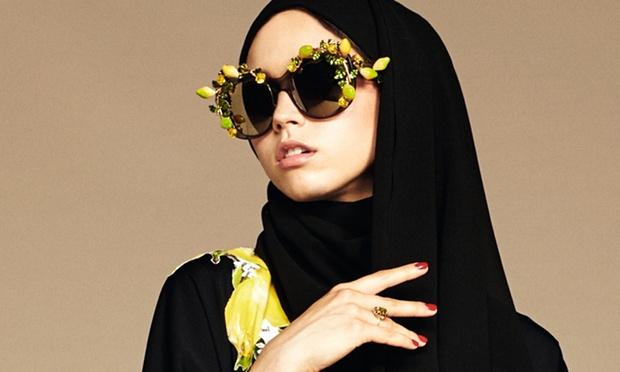 Dolce&Gabbana Hairstyles under Hijab Spring 2016