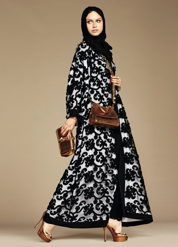 Dolce&Gabbana Modest Hijab Collection Spring 2016