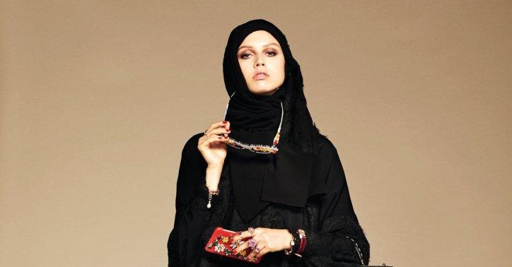 Dolce&Gabbana Modern Hijab Collection Spring 2016