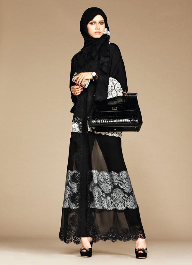 Dolce&Gabbana Elegant Hijab Collection Spring 2016