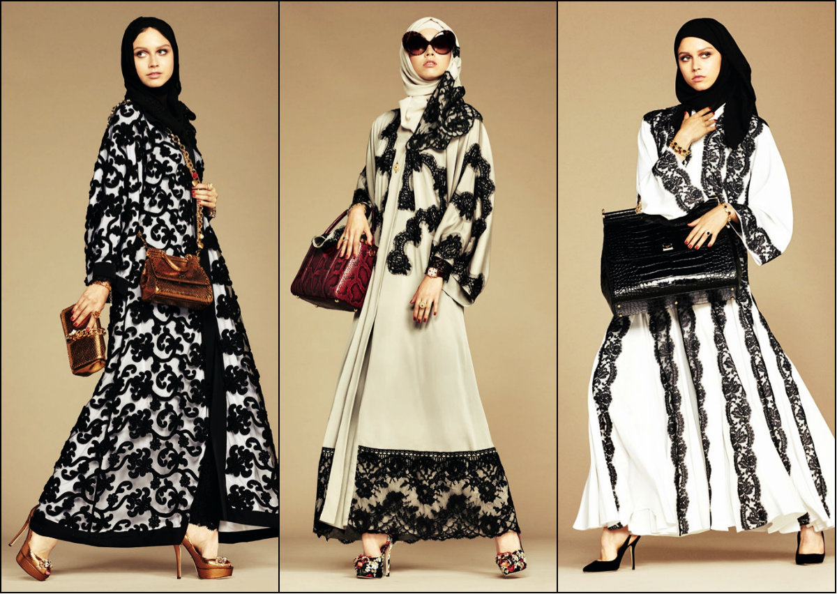 Dolce&Gabbana Hijab Collection Spring 2016