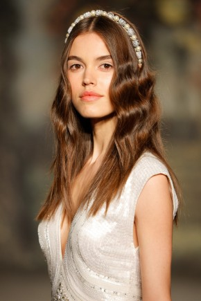 Jenny Packham Spring 2016 Wedding Hairstyles