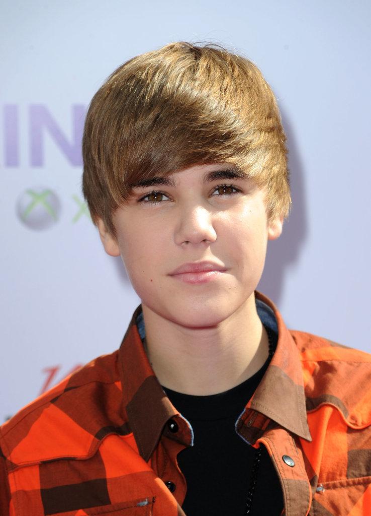 Justin Bieber Mens Hairstyles 2010