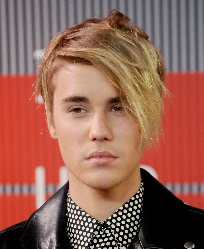 Justin Bieber Messy Mens Hairstyles 2015