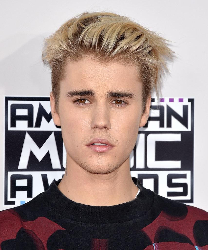 Justin Bieber Blonde Mens Hairstyles 2015