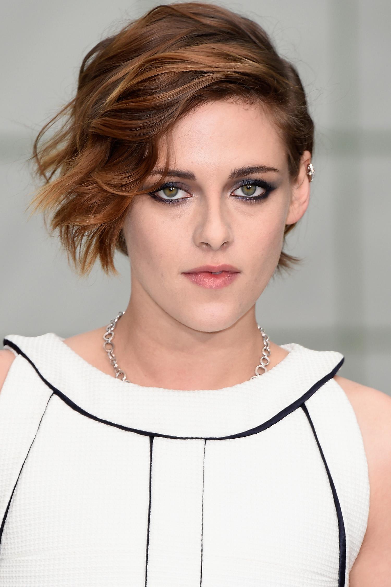 Kristen Stewart pixie cut
