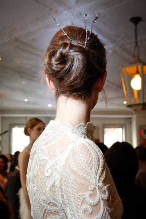 Lela Rose Spring 2016 Wedding Hairstyles