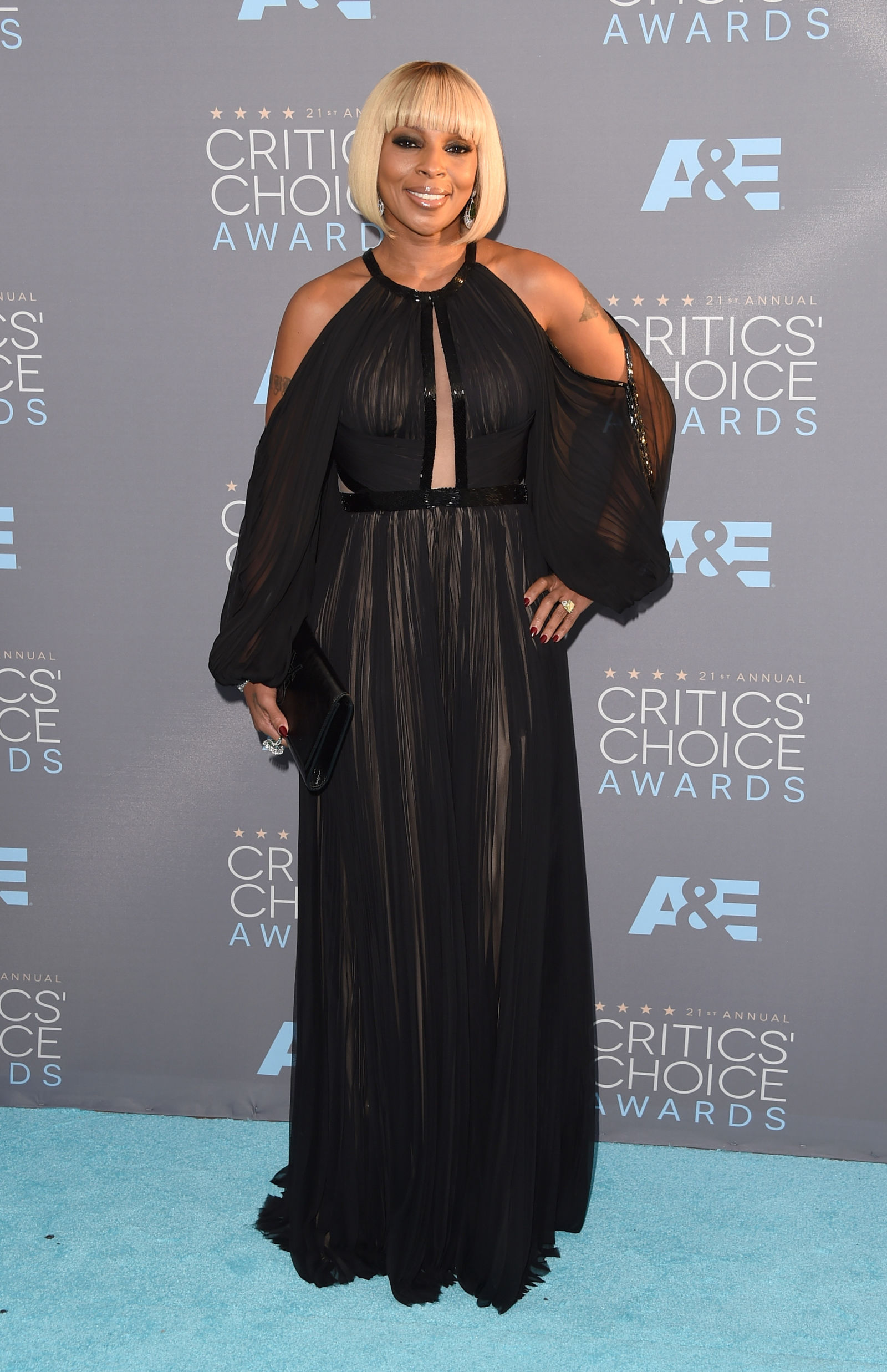 MARY J. BLIGE celebrity hairstyles 2016