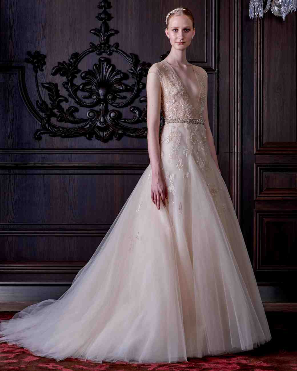 Monique Lhuillier Bridal Hairstyles 2016 Spring