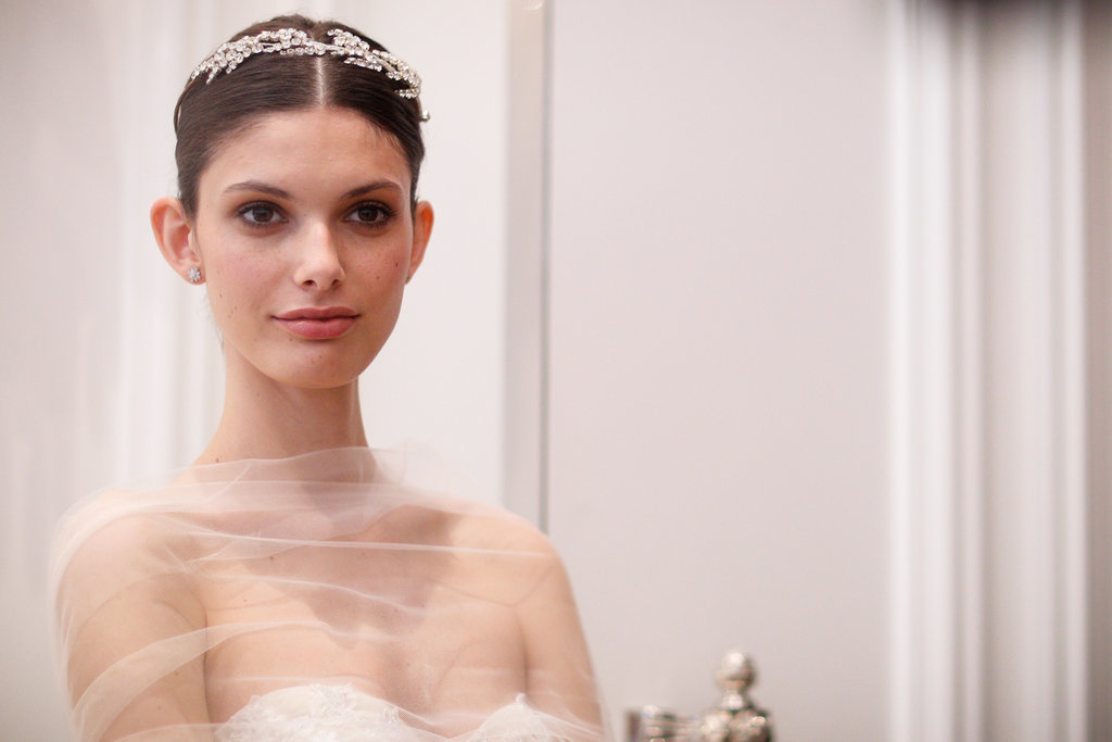 Monique Lhuillier Spring 2016 Wedding Hairstyles