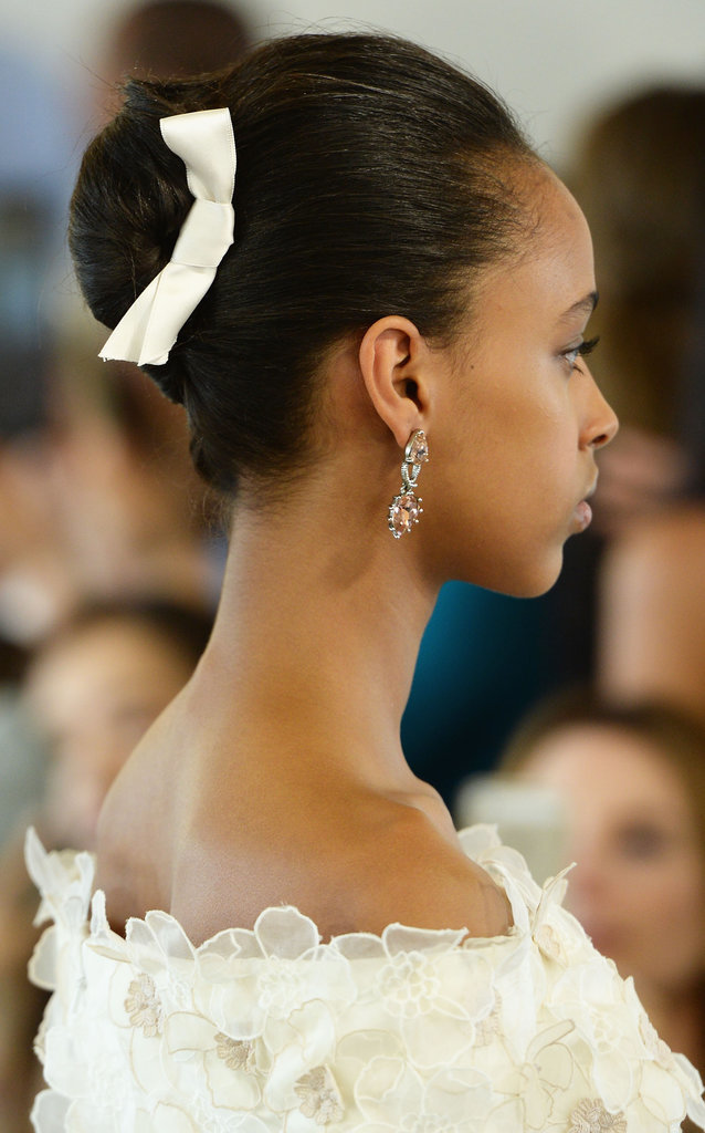 Oscar de la Renta Spring 2016 Wedding Hairstyles 1