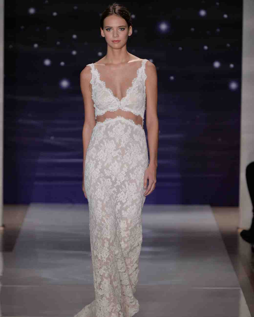 Reem Acra Bridal Hairstyles 2016 Spring