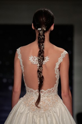 Reem Acra Spring 2016 Wedding Hairstyles 1