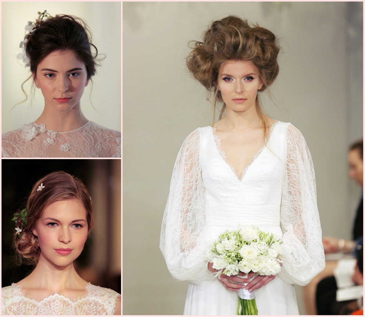 Runways: Wedding Hairstyles 2016 Spring