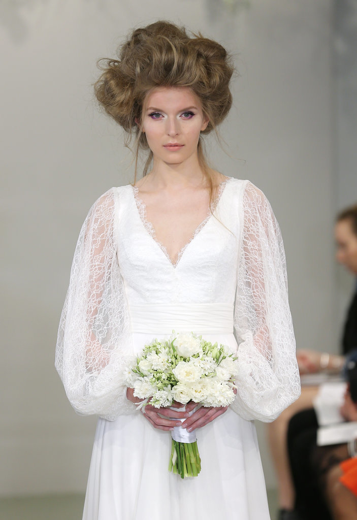 Theia  Spring 2016 Wedding Hairstyles